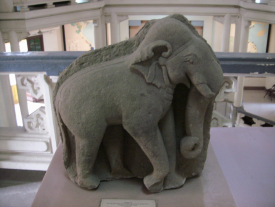 elephant stoned