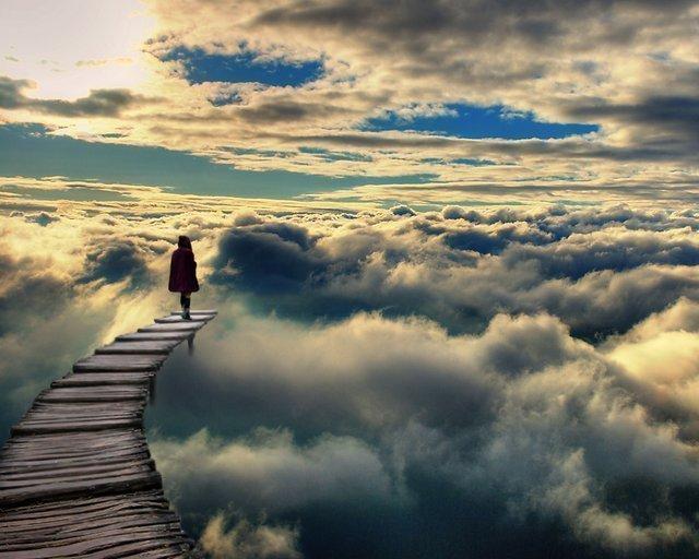 path-in-clouds