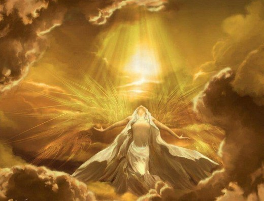 golden ray goddess