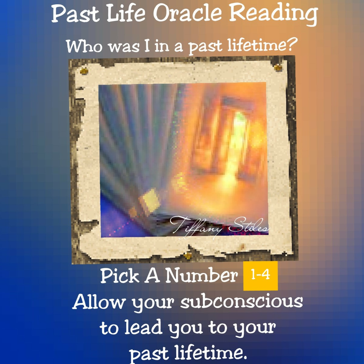 Past Life Oracle Reading~ Who was I in a past lifetime?