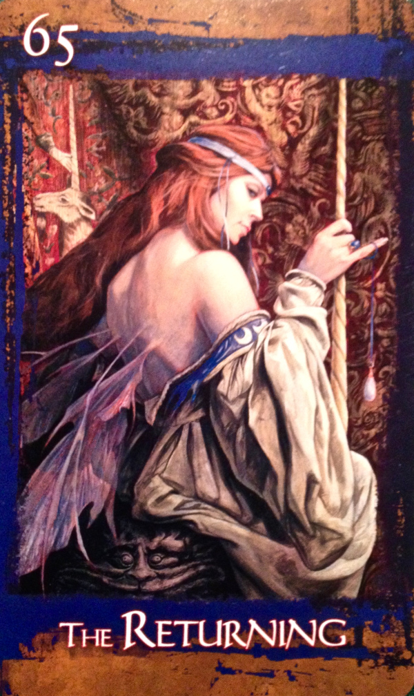 The Returning, from the Heart Of Faery Oracle Card deck, by Brian and Wendy Froud