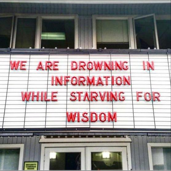 we are drowning