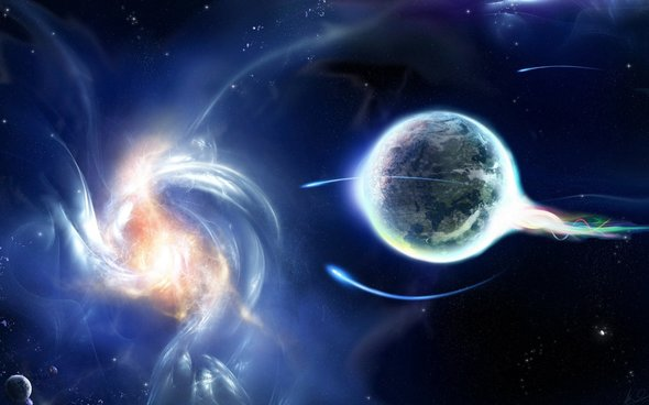 the expanding energy of earth