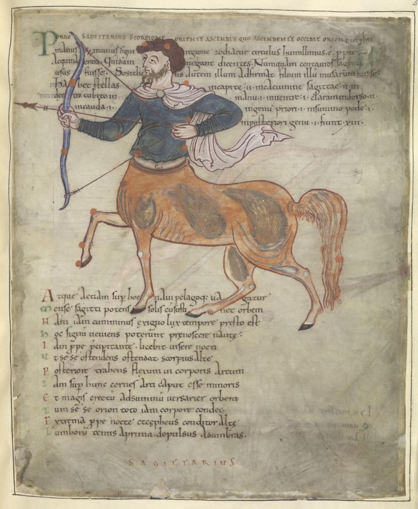 Sagittarius_-_Cicero's_Aratus_(mid_11th_C),_f.37_-_BL_Cotton_MS_Tiberius_B_V