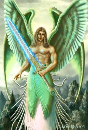This image has an empty alt attribute; its file name is Archangel-Rafael.jpg