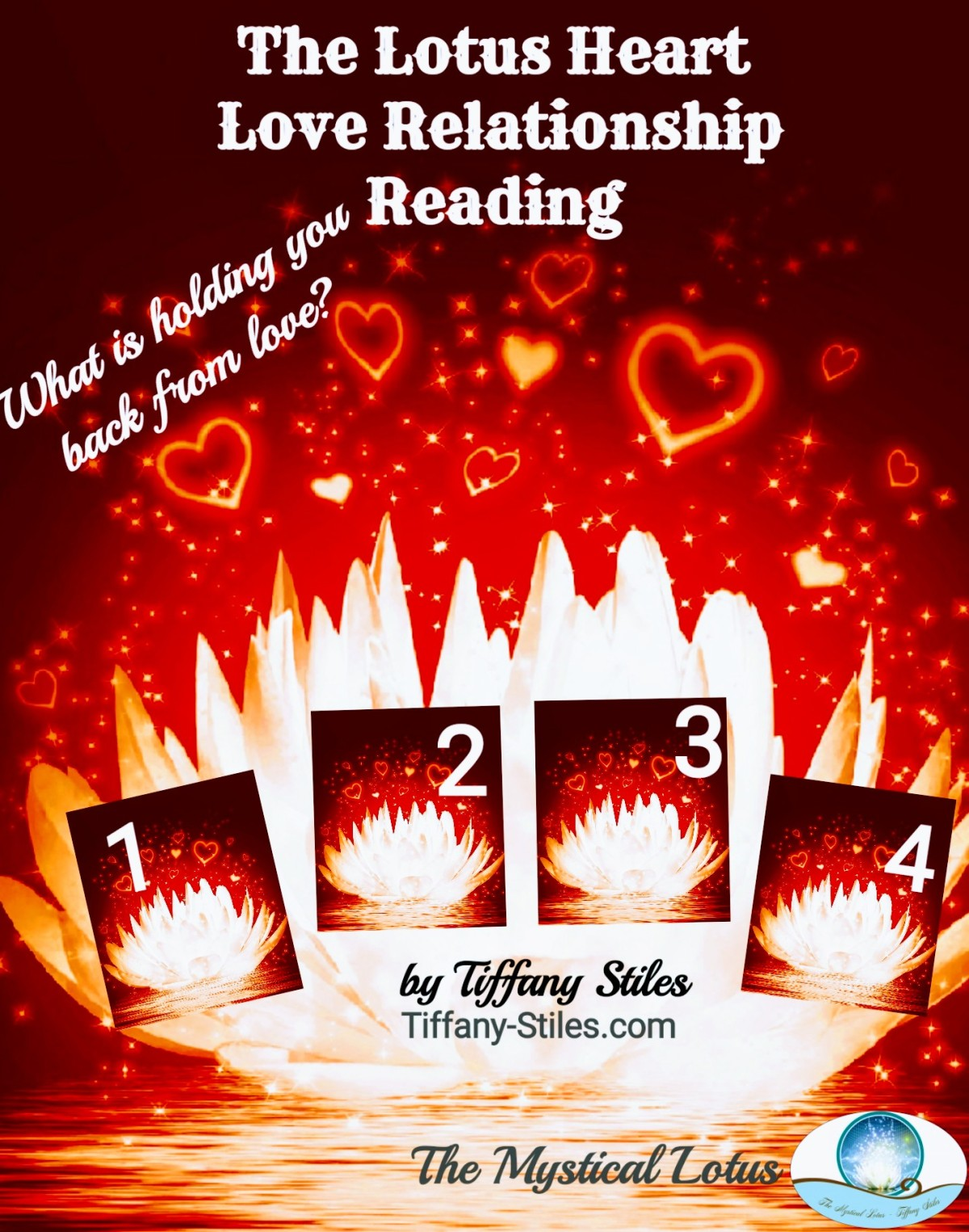The Lotus Heart Love Relationship Reading. What is holding you back fromlove?
