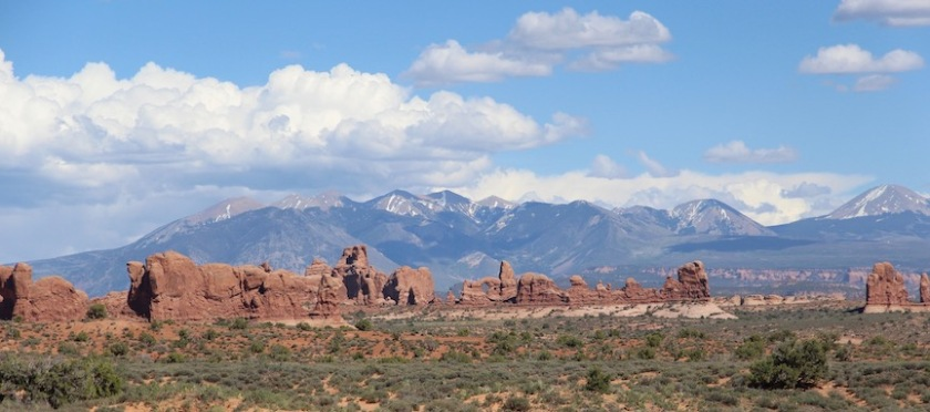 Windows Section of Arches National Park