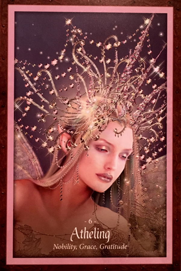 Antheling, from the Faery Forest Oracle Card deck, by Lucy Cavendish, Artwork by Maxine Gadd