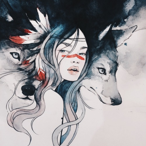 """""""Wolves and Women have much in common. Both share a wild spirit. Women and Wolves are instinctual creatures, able to sense the unseen. They are loyal, protective of their packs and of their pups. They are wild and beautiful. Both have been hunted and captured. Even in captivity, one can see in the eyes of a Woman, or a Wolf, the longing to run free, and the determination that should the opportunity arise, Whoosh, they will be gone….."""" ~ CLARISSA PINKOLA ESTÉS, [WOMEN WHO RUN WITH THEWOLVES]."""