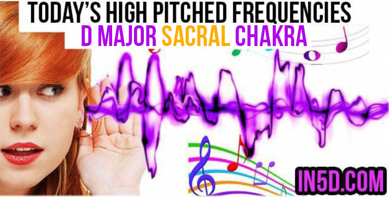 JAN 2, 2019 HIGH PITCHED FREQUENCY KEY D MAJOR SACRAL CHAKRA