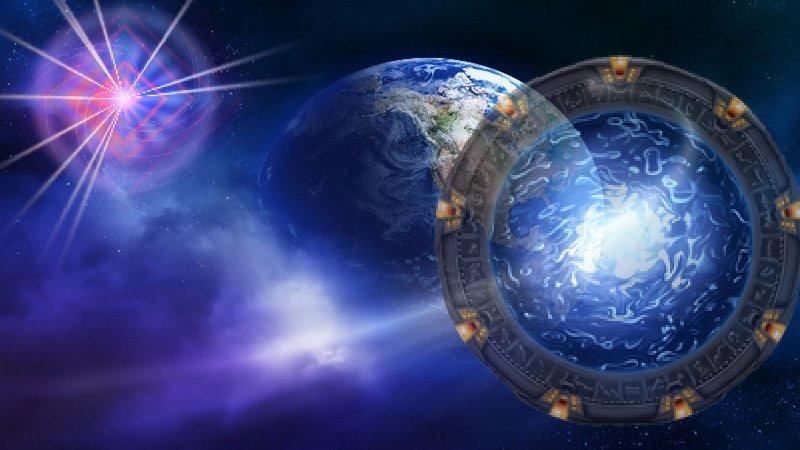 Walking Through The New Earth Door