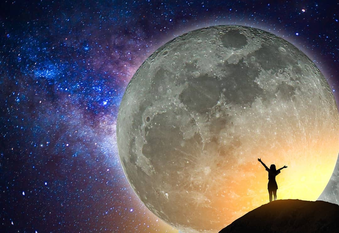 Supermoon Energy: Self-Acceptance/Love While Soberly Looking Within