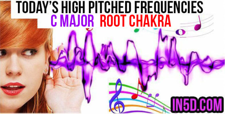 DEC 9, 2018 HIGH PITCHED FREQUENCY KEY C MAJOR - ROOT CHAKRA