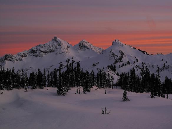 Tatoosh Ridge by Andrei Pernutter